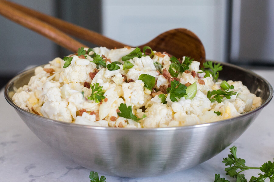 Loaded Cauliflower Salad