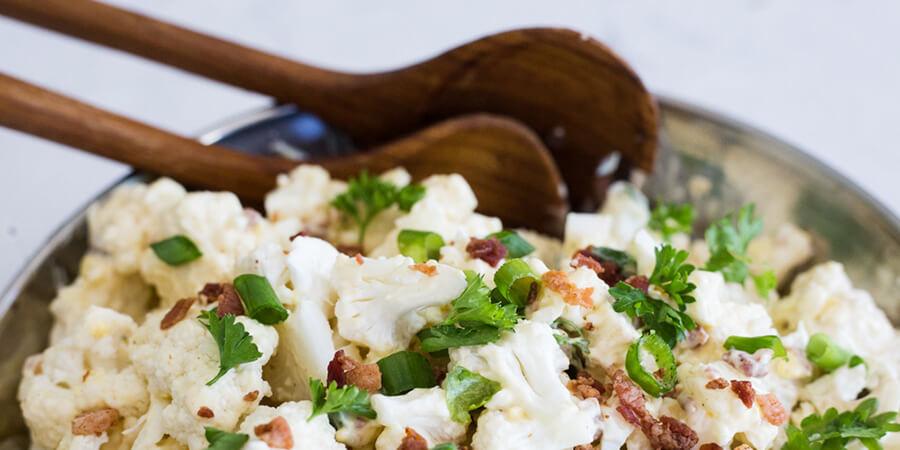 Loaded Cauliflower Salad