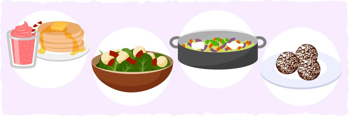 A sample vegan ketogenic meal plan
