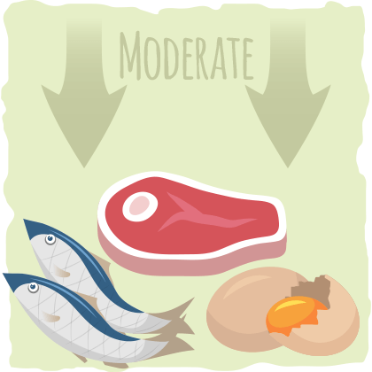 Eating the right amount of protein is important for ketosis.