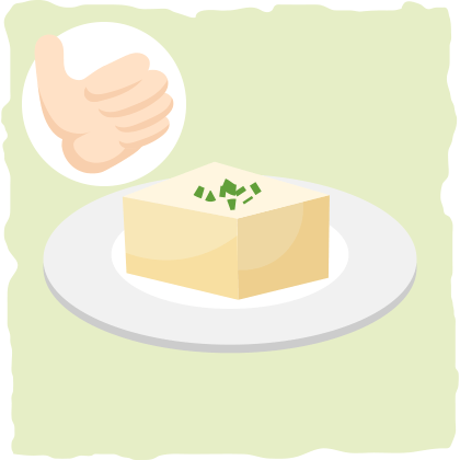 Tofu can be eaten on a vegan keto diet.