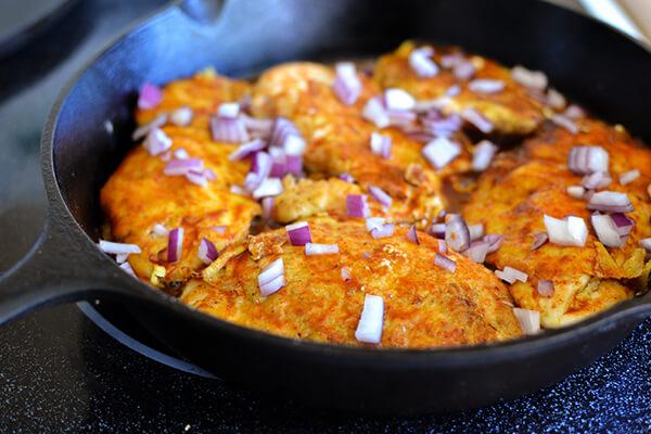 Enchilada Skillet Chicken