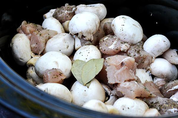 Herb Chicken and Mushroom Stew